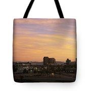 Sunset Skyline Phoenix Az Usa Tote Bag