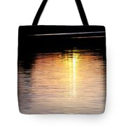 Sunset Streaks Tote Bag