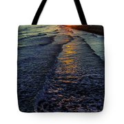 Sunset Surf Tote Bag by Perry Webster