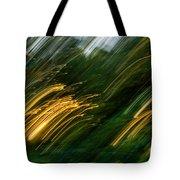 Sunset Swipe Tote Bag