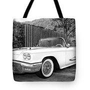 Sunset Thunderbird Bw Palm Springs Tote Bag