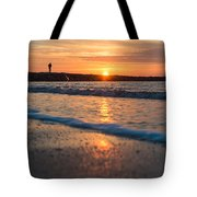 Sunset Tourists Tote Bag