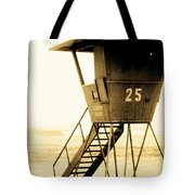 Sunset Tower 25 Tote Bag