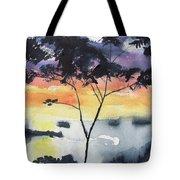 Sunset Tree Koh Chang Thailand Tote Bag
