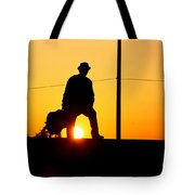 Sunset Tunnel Tote Bag