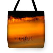 Sunset Tupper Lake Tote Bag