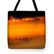 Sunset Tupper Lake Tote Bag