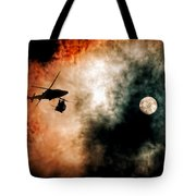 Sunset Twins Tote Bag