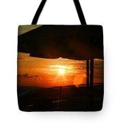 Sunset Under The Umbrella By Diana Sainz Tote Bag