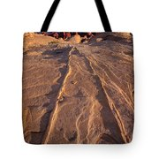 Sunset Valley Of Fire State Park Nevada Tote Bag