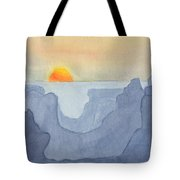 Sunset Valley Tote Bag