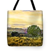 Sunset Verde Valley Thousand Trails Tote Bag