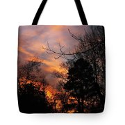 Sunset View From The Path Tote Bag