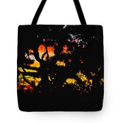 Sunset Viewed Through A Tree Tote Bag