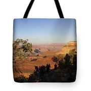 Sunset Vigil Grand Canyon Tote Bag