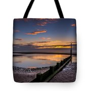 Sunset Wales Tote Bag by Adrian Evans
