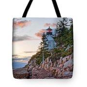 Sunset Watcher - Bass Harbor Head - Maine Tote Bag