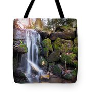 Sunset Waterfalls In Marlay Park Tote Bag