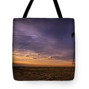 Sunset Windmill Tote Bag