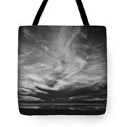 Sunset With No Color Tote Bag