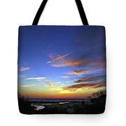 Sunset X Tote Bag