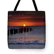Sunset...naples Style Tote Bag