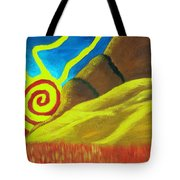 Sunsetting On Dreams Tote Bag