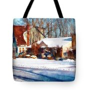 Sunshine After The Snow Tote Bag