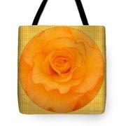 Sunshine Begonia Tote Bag