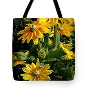 Sunshine Flower Tote Bag