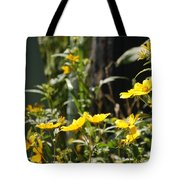 Sunshine Flowers 2 Tote Bag