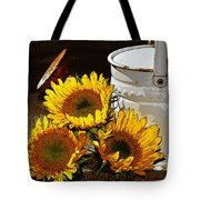 Sunshine From The Garden Tote Bag