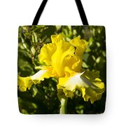 Sunshine Iris Tote Bag