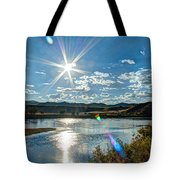 Sunshine On The Missouri Tote Bag