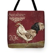 Sunshine Rooster Tote Bag