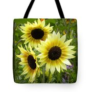 Sunshine Trio Tote Bag