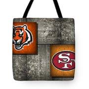 Super Bowl 23 Tote Bag