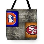 Super Bowl 24 Tote Bag