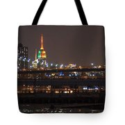 Super Bowl Colors Tote Bag