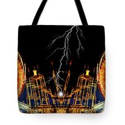 Super Charge My Ride Tote Bag