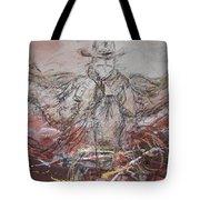 Super Cowboy Tote Bag