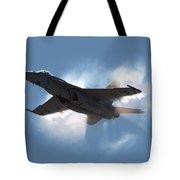 Super Hornet Shockwave Tote Bag