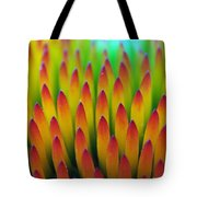 Super Macro Of Echinacea Cone Flower Tote Bag