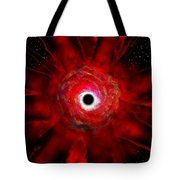Super Massive Black Hole Tote Bag
