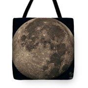 Super Moon 3628 August 2014 Tote Bag