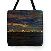 Super Moon Over San Diego 1 Tote Bag