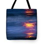 Super Moon Reflection Tote Bag