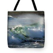 Super Wave At The Barents Sea Coast Tote Bag
