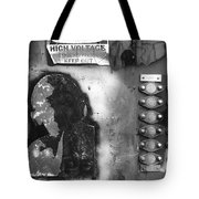 Supercharged Man Tote Bag