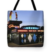 Superdawg Tote Bag